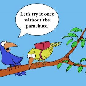 Let's try it one more time without the parachute cartoon